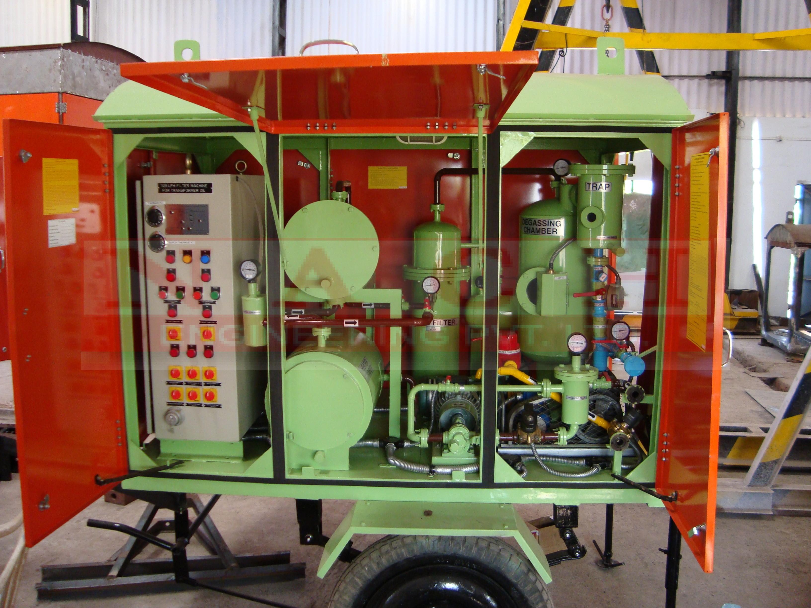 Transformer Oil Purification / filtration Process/Procedure ? - NACH